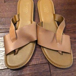 Franco Sarto tan sandals